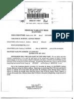 Missouri Warrany Deed by Carletha r. Mckinzy for 8609 e 87th St Raytown, Missouri 64138