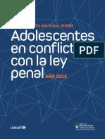 Protección de Adolescentes en conflicto con la ley penal