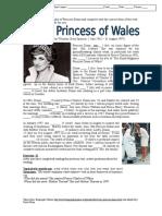 Past Simple Princess Diana