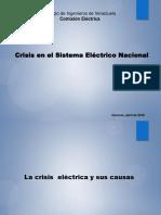 Presentación Crisis Eléctrica en Venezuela 6 abril 2016_Winston Cabas