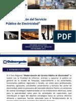 Resumen Ejecutivo-II Foro de Electricidad AQP