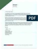 kg letter of rec