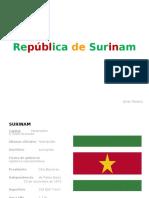Surinam Diapositivas