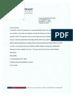vb letter of rec