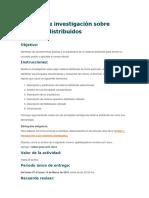 Actividad 1. Reporte de Investigación Sobre Sistemas Distribuidos