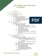 Esquema Del Código Civil Del Estado de México