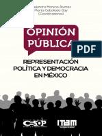 Opinion Pública. Representación Política y Democracia en México