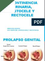 Expo Incontinencia Urinaria, Cistocel y Retócele (1)