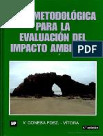 Conesa Fernandez Guia Metodologica Para La Evaluacion Del Impacto Ambiental