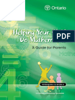 helping your child do mathematics - a guide for parents