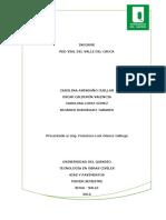 Informe - Red Vial Del Valle Del Cauca