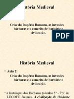 História Medieval Aula2