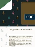 Design Indentation