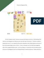 classroom management plan - for portfolio