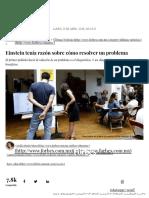 Einstein Tenía Razón Sobre Cómo Resolver Un Problema - Forbes México