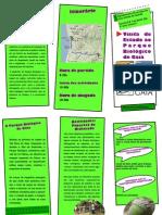 Folheto Parque