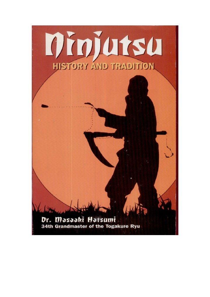 Ninjutsu, history and tradition
