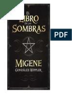 Libro de Las Sombras - Migene Gonzalez Full