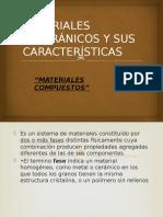 Materiales Inogránicos y Sus Características Guerrero