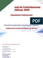 Reporte Anual de Contrataciones 2009-Publicar