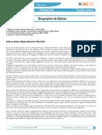 Biographie Balzaczerzar
