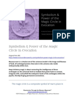 Symbolism & Power of the Magic Circle in Evocation