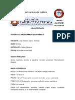 Informe Radiografico.. l