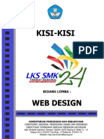 kisi-kisi LKS Web Design 2016