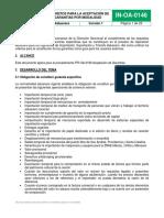 Instructivo Requisitos Para Aceptacion de Garantias Por Modalidad
