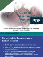 Neonatologia. Guias de Reanimacion Neonatal