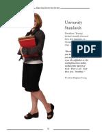 University Standards