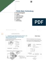 Maschinenelemente I VO - Hannes_gruber - Stoffzusammenfassung - 2013WS
