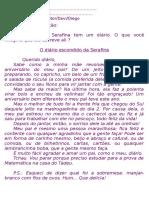 3º Ano Português TExto e Interpretação Diário de Serafina(LU)[1]