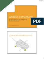 1 Analsis Estructural Introducción