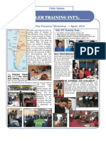 DTI Chile Report Newsletter May 2010[1]
