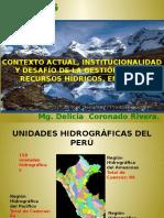 Institucionalidad Del Agua en El Perú