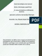 Presentación Unidad 3 Escurrimiento e Infiltracion - Copia