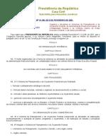 LEI 10180_01 - Sistemas de Planejamento e de Orçamento Federa