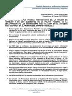 Informe de la CNDH sobre desaparición de los 43 normalistas de Ayotzinapa