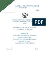 Poder Dual en Los Andes Colombianos 1946_1966
