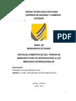 Perfil Monografia Turron de Amaranto