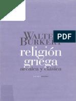 B U R K E R T -Religión Griega