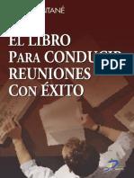 El Libro Para Conducir Reuniones Con Exito