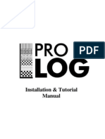 pro log Installation & Tutorial Manual