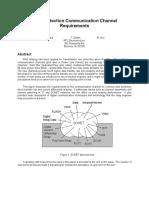 Pilot Protection Communication Channel Requirements