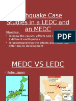 earthquake in ledc and medc Indonesian earthquake dec 26 2004 the 2004 indian ocean earthquake was an undersea megathrust earthquake that occurred at 00:58:53 utc on sunday, 26 december 2004, with an epicentre off the west coast of sumatra, indonesia.