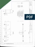 HV Single X-Arm Drawing