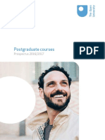 OU Postgraduate Brochure 1617