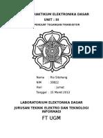 137922914 Penguat Tegangan Transistor