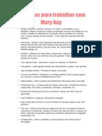 100 Ideias Para Trabalhar Com Mary Kay